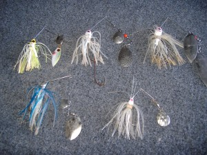 Variety of Spinnerbaits