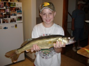 Nick & A Nice Walleye