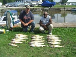 Pymatuning lake fish pittsburgh for Erie fishing report poor richard s