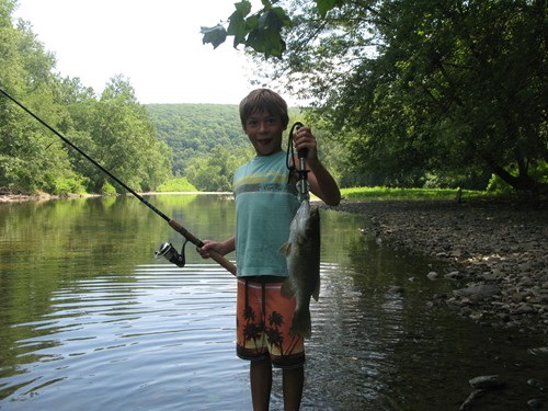 French creek fish pittsburgh for Poor richard s fishing report